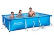 "Piscine tubulaire Rectangulaire ""Splash"" - 3.00 x 2.01 x 0.66 m"