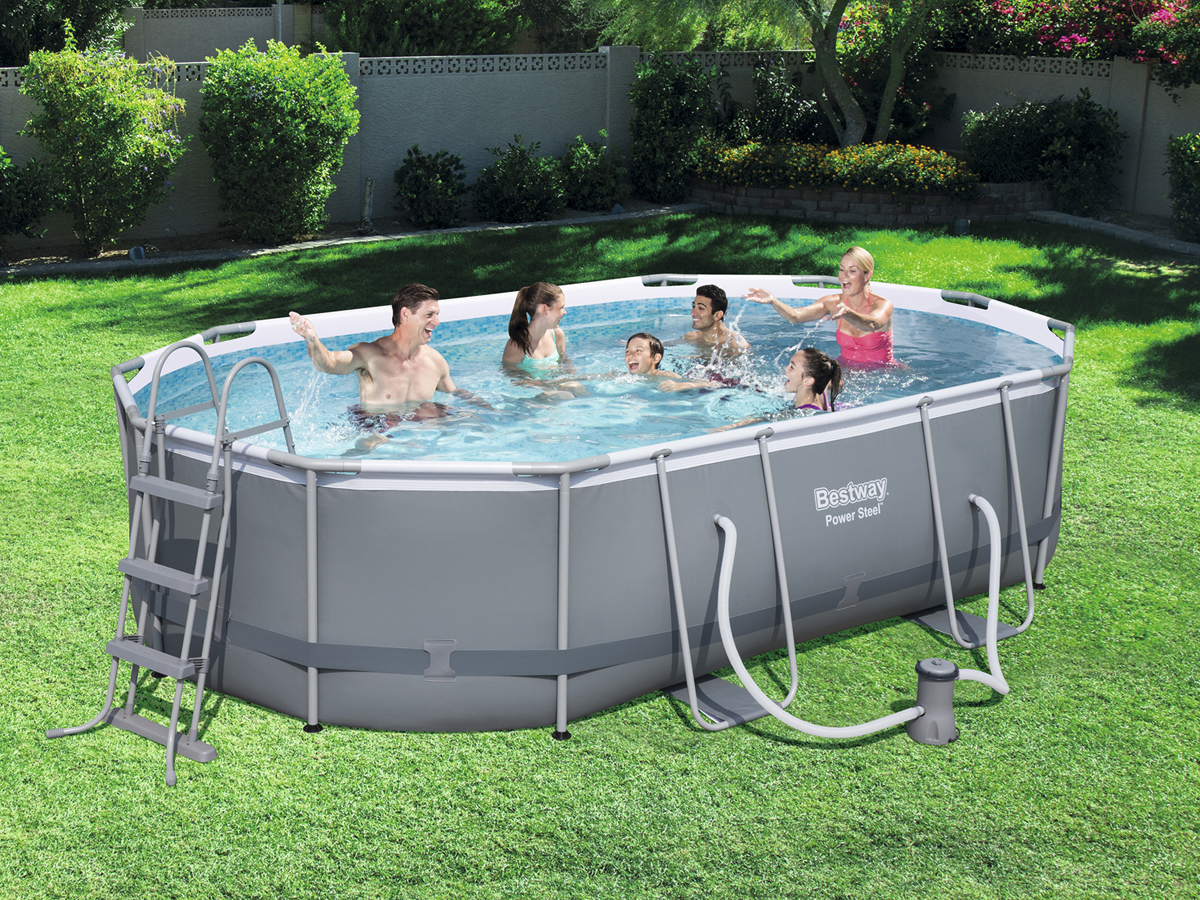 Piscine tubulaire x x m 78787 for Piscine produit