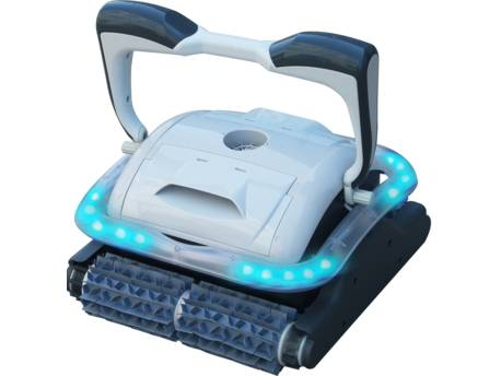 """Robot piscine électrique """"Raptor"""" LED 2 moteurs"""