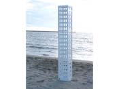 "Luminaire  ""Tour"" - 142 x 25 x 25 cm - Blanc"