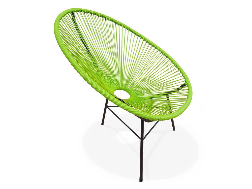 Fauteuil de jardin san diego d tente vert anis 66407 66409 for Sav habitat et jardin