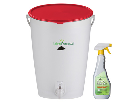 Kit Urban Composter - 15L - Rouge