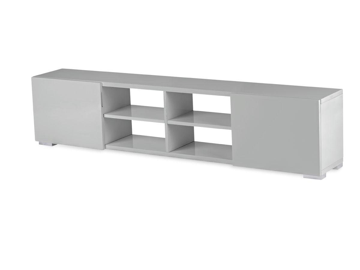 Meuble tv gris 4 for Habitat meuble tv