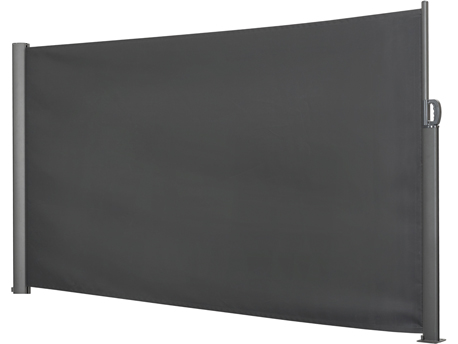 """Paravent rétractable 300 x 200 cm  """"Vento"""" en aluminium"""