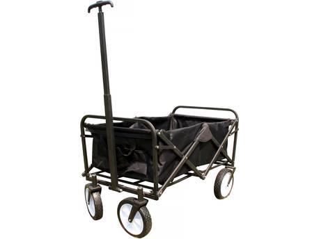 """Chariot de jardin pliable """"Auguste"""" - Noir"""