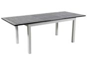 "Table de jardin Alu extensible ""Canaries 8"" - Seychelles - Blanc"