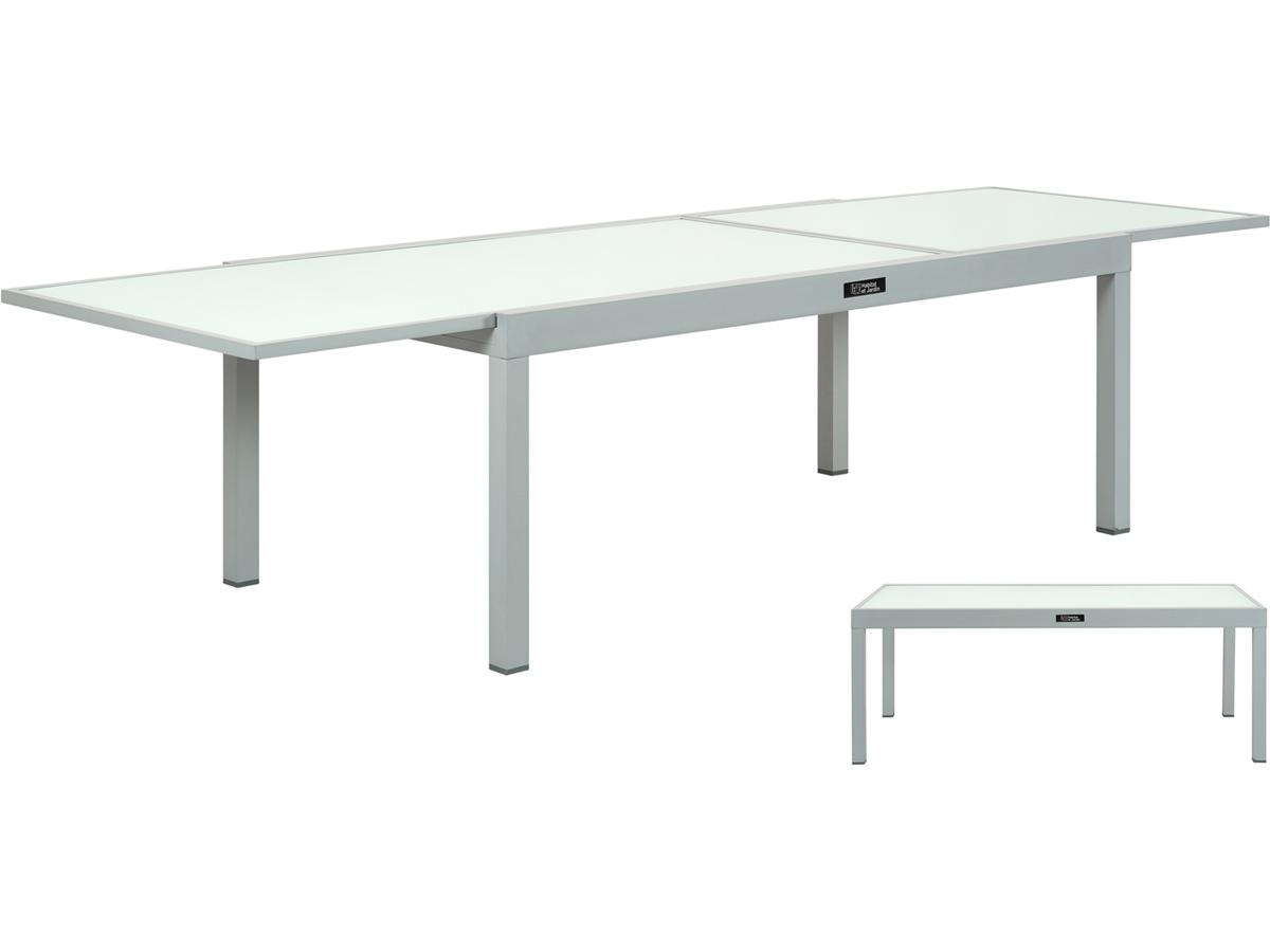 Table De Jardin Aluminium Extensible Porto 12 Ph 86519 86525