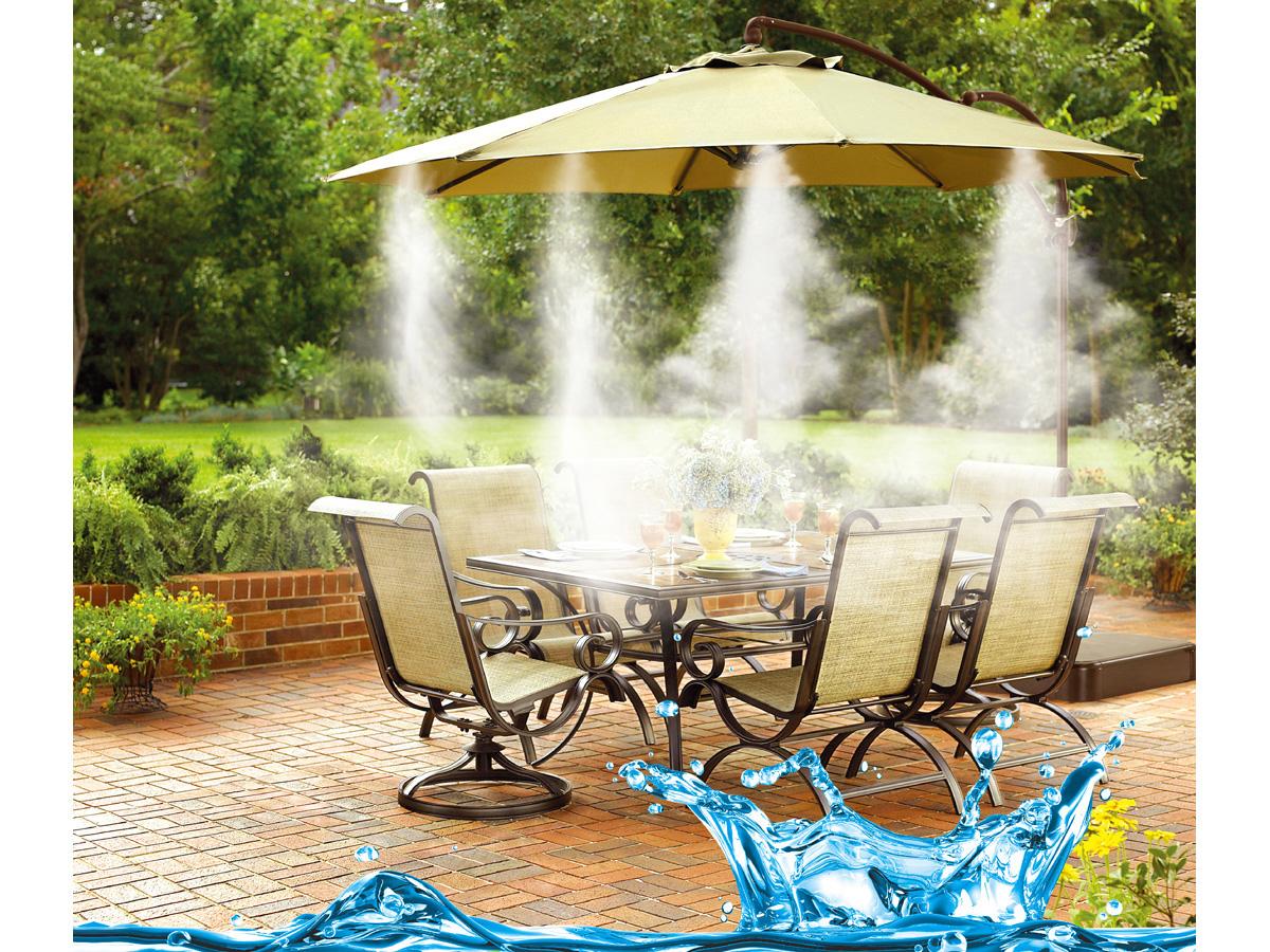 Brumisateur patio mister 6 81190 for Sav habitat et jardin