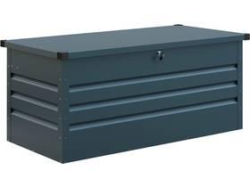 """Coffre de jardin métal """"Store"""" - 165 x 69 x 62 cm - Bleu gris"""