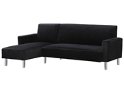 Canapé d'angle tissu réversible