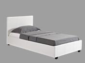"""Lit coffre """"Carla"""" - 90 x 190 cm - Blanc"""