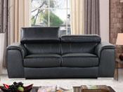Canapé cuir reconstitué et PVC