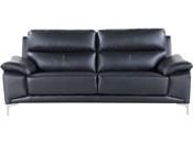 CANAPE CUIR RECONSTITUE/PVC DENVER - 3 PLACES - NO