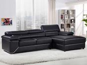 Canapé d'angle cuir reconstitué/PVC