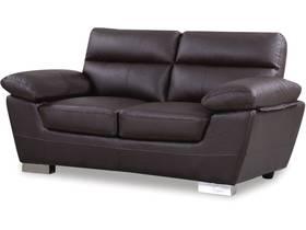 Canapé fixe en cuir reconstitué et PVC