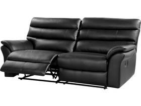 Canapé relax cuir reconstitué et PVC