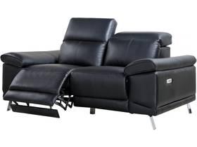 Canapé relax électrique cuir reconstitué et PVC