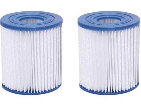 Cartouche de filtration H&J de type D - Lot de 2