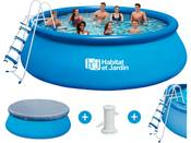 Piscine autoportante ronde - Ø 4,57 x H 1,22 m - Filtration à cartouche - UK