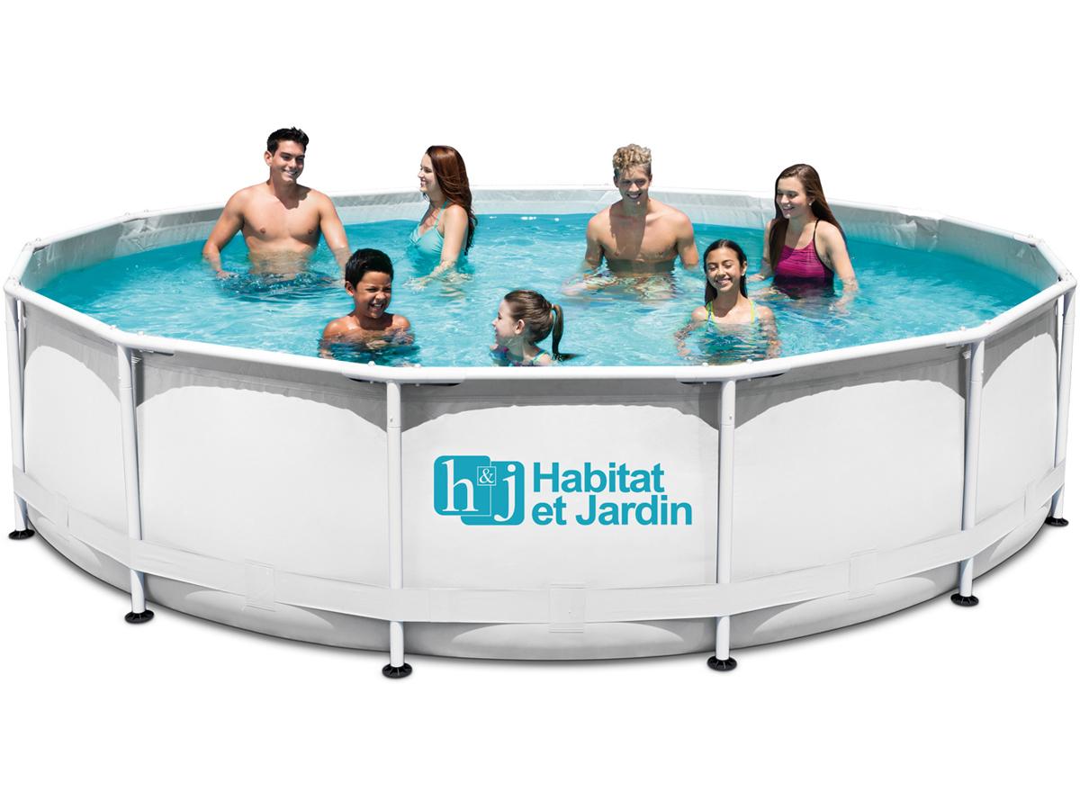 piscine tubulaire flipo 1 x m 80055. Black Bedroom Furniture Sets. Home Design Ideas