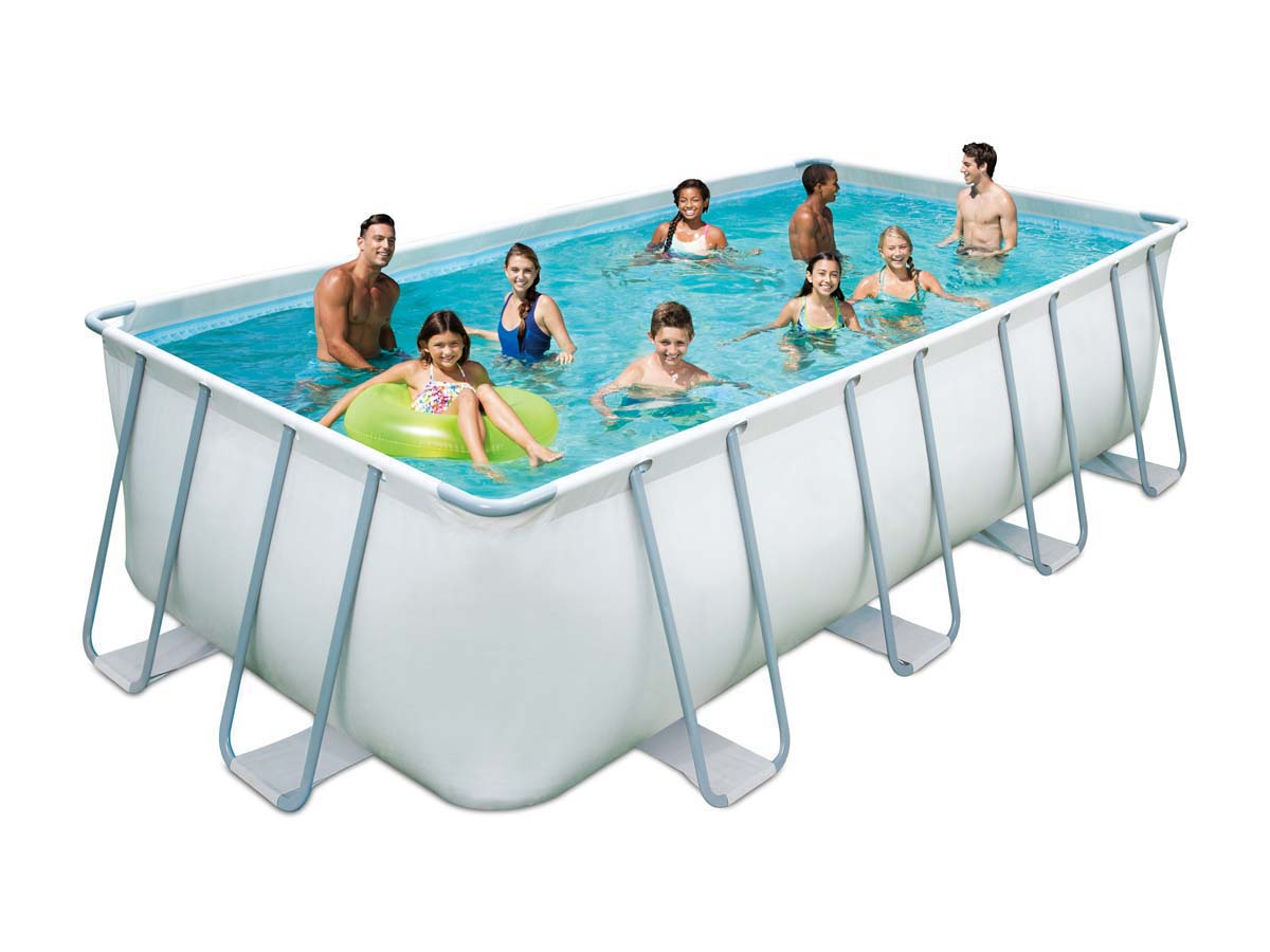Piscine tubulaire elite x x m filtre for Piscine tubulaire grise