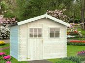 """Abri jardin bois """"Rimini 1"""" - 6 m² - 2.74 x 2.20 x 2.17 m - 19 mm"""