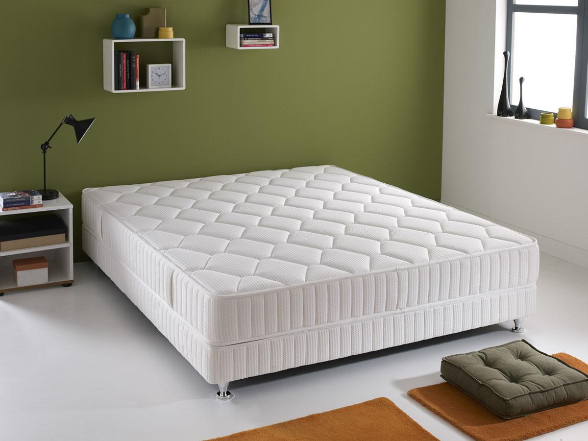 matelas ressorts q1 180 x 200 cm 84087. Black Bedroom Furniture Sets. Home Design Ideas