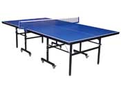 "Table de tennis de table ""Hugo"" - 274 x 152.5 cm - Bleu"