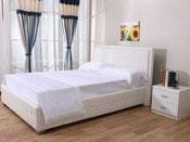 Lit Alex - 140 x 190 cm - Blanc