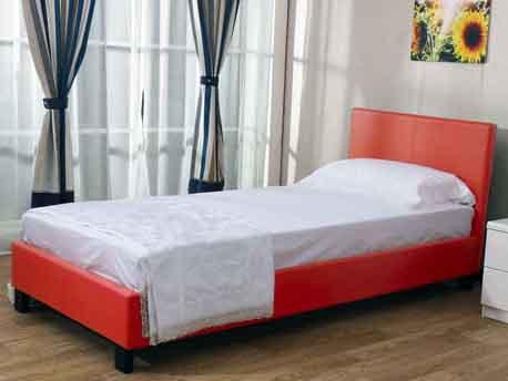 """Lit enfant """"James"""" - 90 x 200 cm - Rouge"""
