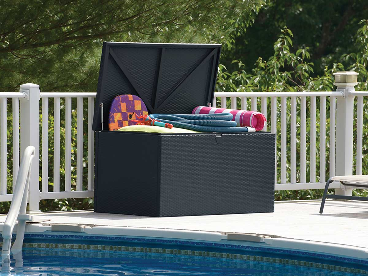 Coffre Jardin M Tal Designer Deck Box 509 L 87908 # Coffre De Jardin En Resine