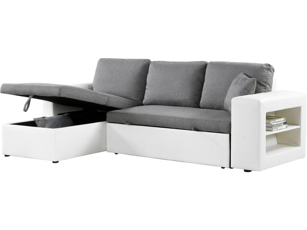 Canapé D Angle Convertible Et Réversible Allen Luxe