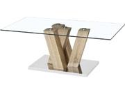 "Table basse ""Gaya"" - 110 x 60 x 40 cm - Chêne"
