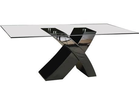 """Table repas """"Mona"""" - 200 x 90 x 74 cm - Noir"""