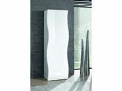 """Armoire """"Onda"""" - blanc laqué - 63 x 39,5 x 187 cm"""