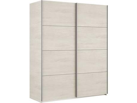 "Armoire dressing ""Hera"" - 200 x 150 x 60 cm - Blanc Alpes"