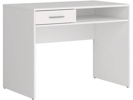 "Bureau ""Nepo"" - 1 tiroir - Blanc"
