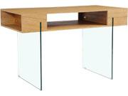 "Bureau ""Catania"" - 120 x 60 x 75 cm -  Finition chêne"