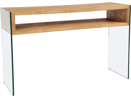 "Console ""Roma"" - 120 x 40 x 75 cm -  Finition chêne"