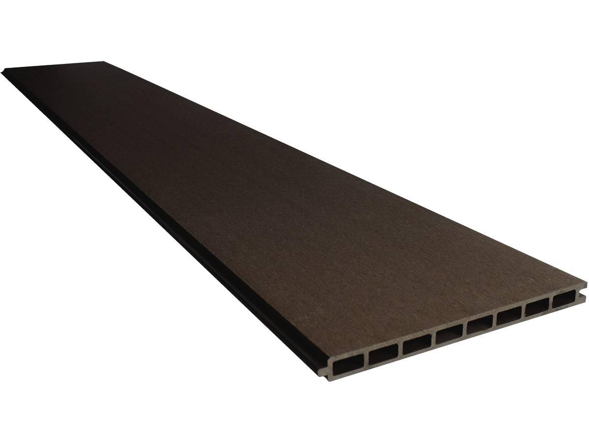 Lot De 6 Lames De Clôture En Composite   Long : 1,60m   Marron