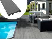 Pack 5 m² - Lames de terrasse composite pleines - Gris