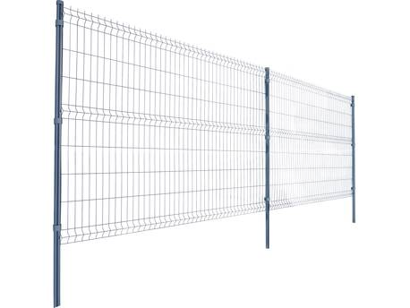 Lot de 4 panneaux rigides gris - 2.50 x h 1.53 m