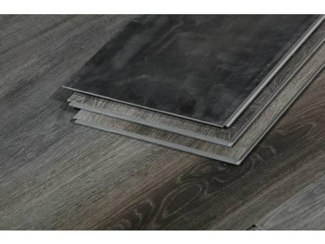 Lames de sol PVC clipsables- 3.3 m² - 4 mm  - Chêne gris foncé