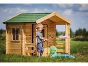 Maisonnette en bois - 175x130cm