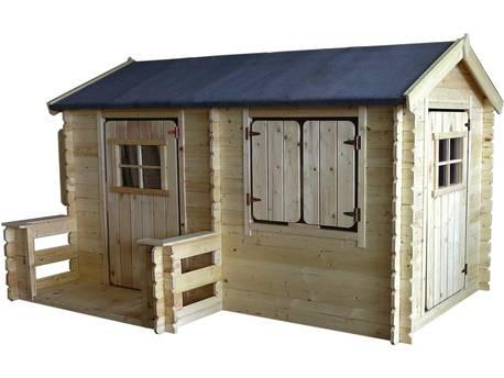 Maisonnette en bois - 235x175cm