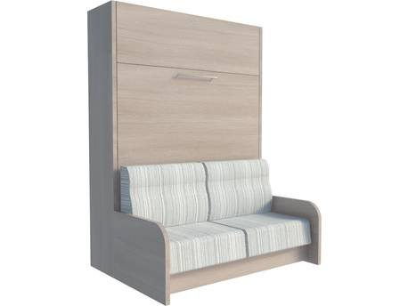 """Lit escamotable avec canapé """"Edmonton"""" - 140 x 200 cm"""