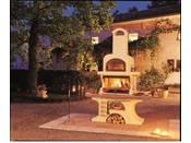 "Barbecue en pierre ""Capri  2 "" - 186 x 95 x 265 cm"