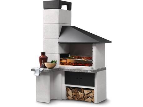 """Barbecue en pierre """"Faro New"""" - 154 x 110 x 240 (H) cm"""