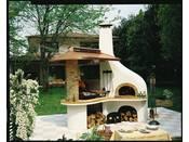 """Barbecue en pierre """"Vulcano"""" - 252 x 266 x 320 (H) cm"""