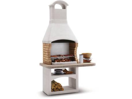 """Barbecue en pierre Palazzetti """"Boavista"""" - 128 x 71 x 128 (H) cm"""
